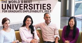 商业杂志发布2017世界大学毕业生就业能力排名