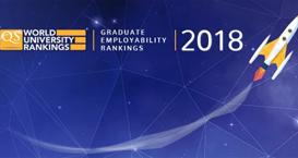 QS2018世界大学毕业生就业能力排名新鲜出炉!