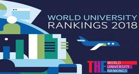《THE》2018世界大学排名中最好的英国大学榜单